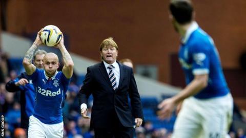 New Rangers manager Stuart McCall