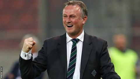 Michael O'Neill hopes the Qatar game will be the perfect warm-up before facing Romania