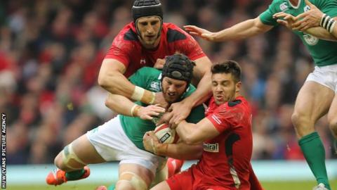 Wales lock Luke Charteris