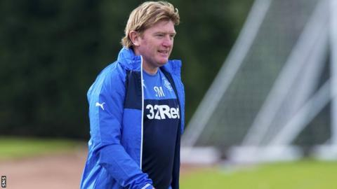 McCall has been appointed Rangers manager until the end of the season