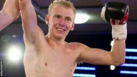 Australian boxer Braydon Smith