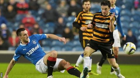 Lee Wallace and Kevin Cawley