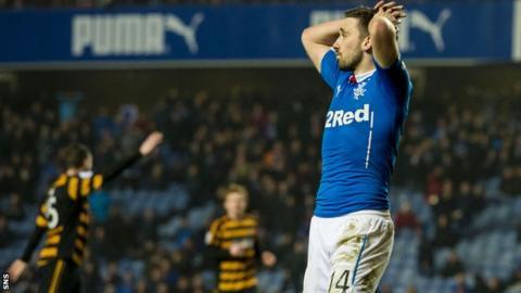 Rangers forward Nicky Clark