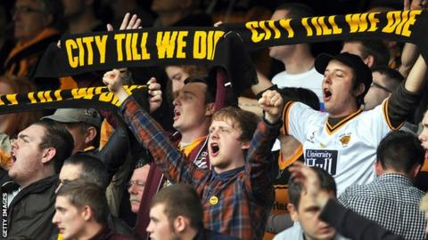 Hull City supporters