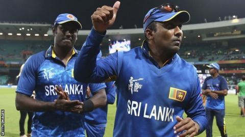 Sri Lanka batsman Mahela Jayawardene