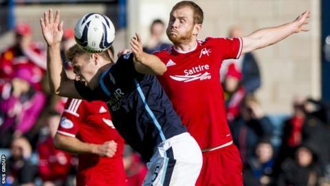Aberdeen visit Dens Park on Saturday lunchtime