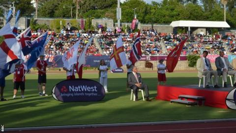 2013 Island Games opening ceremony