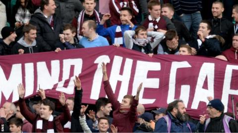 Hearts have led from the front since the beginning of the season