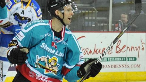 Evan Cheverie opened the scoring for the Giants against Fife