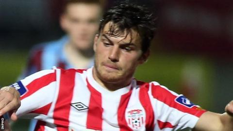 Philip Lowry scored Derry City's goal in the draw away to Sligo Rovers