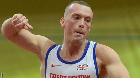 Sprinter Richard Kilty