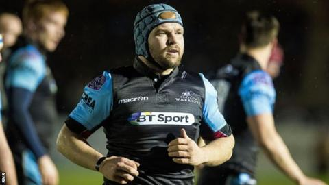 Glasgow Warriors forward Dougie Hall