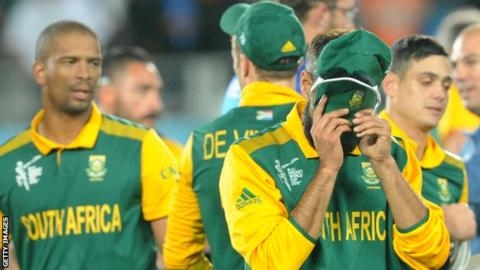 Cricket World Cup 2015 South Africa Players Hurting After