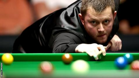 Mark Allen clinched victory with a 94 break in the final frame
