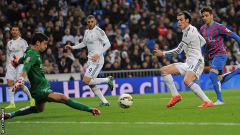 Gareth Bale returned to scoring form for Real Madrid with a brace against Levante