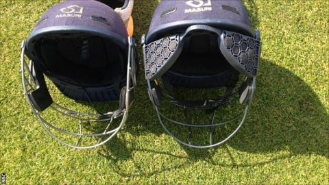 The new helmet design