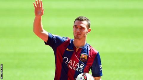 Barcelona defender Thomas Vermaelen