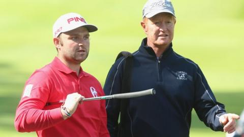 Andy Sullivan, twice a winner on Tour this season, works with Jamie Gough as his swing coach