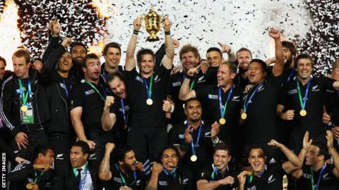 New Zealand Rugby World Cup winners 2011
