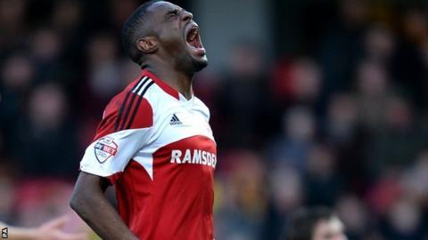 Middlesbrough winger Mustapha Carayol