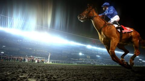 African Story winning the Dubai World Cup in 2014