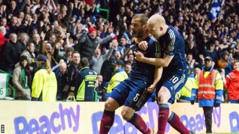 Shaun Maloney scored to give Scotland a vital win over the Republic of Ireland in November