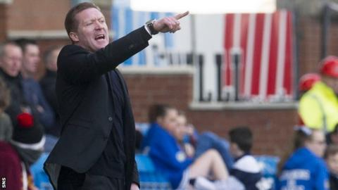 Kilmarnock interim manager Gary Locke