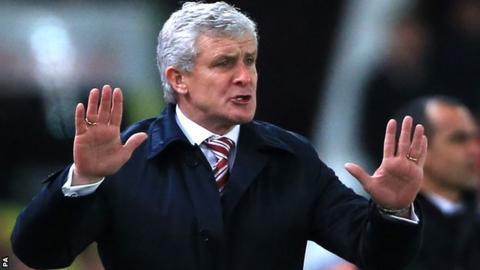 Mark Hughes of Stoke City