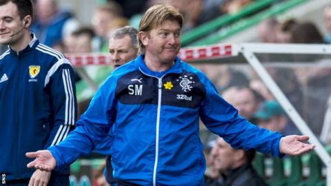 Stuart McCall does not yet know if he will be in charge next season