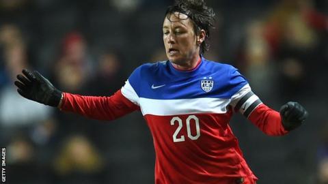 e5e192fa2e2 Abby Wambach would trade it all for World Cup crown with USA - BBC Sport