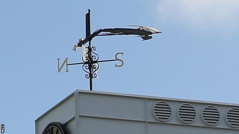 Lord's weathervane