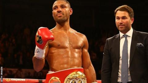 Image result for kell brook and eddie hearn