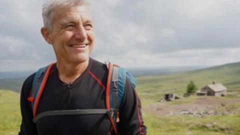 Paul Rose on the Pennine Way
