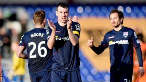 Ross County have taken 16 points from their last six league matches