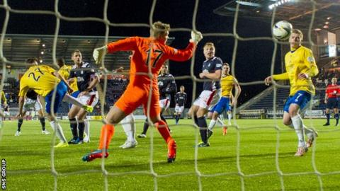 Falkirk recovered from a shock weekend loss to Dumbarton to move into the play-off places