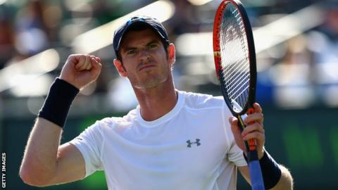 Andy Murray is the first Briton to reach the landmark of 500 career wins