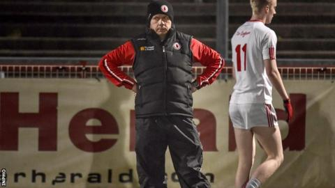 Peter Canavan will be on the sideline as part of the Tyrone U21 management team in the Ulster semi-final against Armagh.