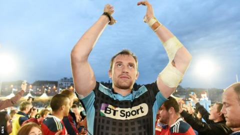 Alastair Kellock has made more than 150 appearances for Glasgow Warriors