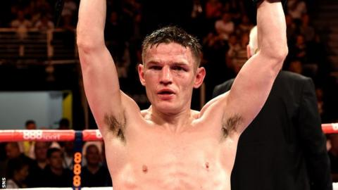 Willie Limond won the Lonsdale belt in June 2014