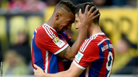 Borrusia Dortmund v Bayern Munich