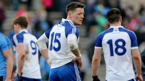 Conor McManus and his Monaghan team ended up on the wrong end of a 1-22 to 1-11 scoreline against Dublin