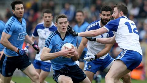 Monaghan lost 1-22 to 1-11 to Dublin and will face the same opposition in the 2015 Division One semi-finals