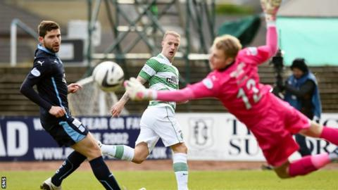 Scott Bain has replaced Kyle Letheren as Dundee's first choice goalkeeper