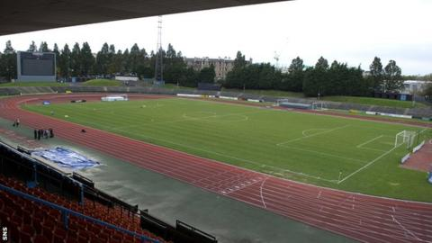 Meadowbank Stadium, Edinburgh