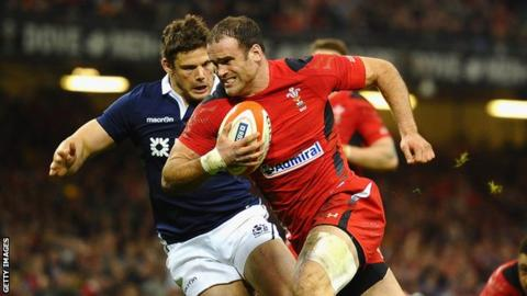 Jamie Roberts has won 69 Wales caps and three for the British and Irish Lions