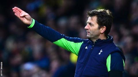 Tim Sherwood while managing Tottenham