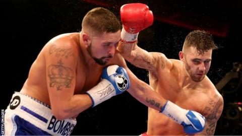 Nathan Cleverly suffered defeat at cruiserweight to British rival Tony Bellew