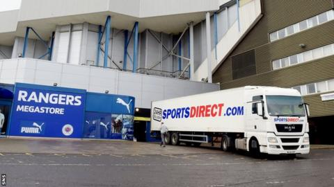 Mike Ashley's Sports Direct benefit from a 75% share of the club's retail income