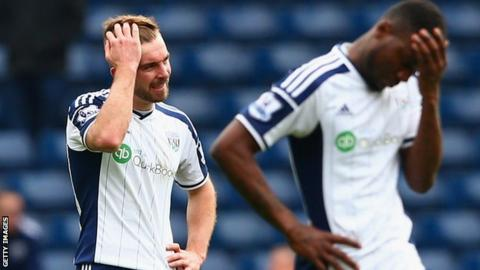 Two of Albion's five defeats in six games have come from last-minute winners after James Morrison has been substituted