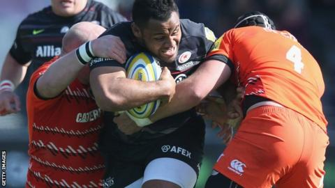Billy Vunipola, Saracens and England back row